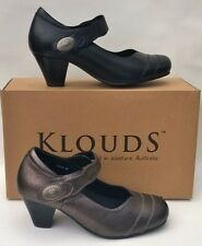 Klouds shoes - Orthotic friendly comfort leather heels Oxford