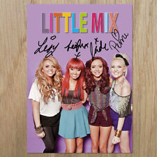 LITTLE MIX  Signed Photo...LOOK...BIGGER   8