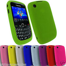 Gel Case Cover For BlackBerry 8520 Curve Soft Silicone Hard Hybrid TPU Circle