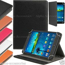 "Universal PU Leather Grip Stand Case Cover For 7"" 7 Inch Tab Android Tablet PC"