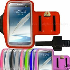 Sport Armband For Samsung Galaxy Note II 2 N7100 Jogging Running Gym Pouch Case