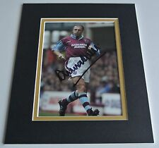 Alvin Martin Signed Autograph 10x8 photo display West Ham United Football & COA