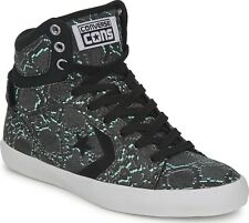 New Converse All Star Chuck Taylor 142187 Snake Mid Shoes Black/Multi Sneakers