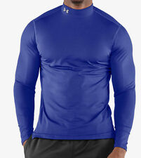 Under Armour Men ColdGear Anti-Odor Fitted Mock Compression LS Shirt(1215483)