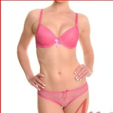 WOMEN'S BRA AND PANTY SET,  HEARTS & LACE, COLORS!  34B - 38C & 40C,  NWT!
