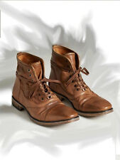 JOHN VARVATOS (Made in Italy) Leather Mens Boot Shoe! Reg$800 Sale$779