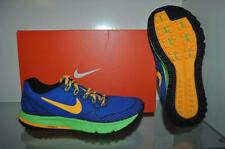 Nike Air Zoom Wildhorse 3 Mens Running Shoes 749336 400 Blue/Orange/Volt NIB