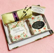 Deluxe Organic Handmade Soap Gift Set 2 Full Size & 1 Guest Soap w Towel Gifts