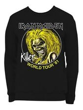 Iron Maiden Killers World Tour 81 Men's Sweatshirt