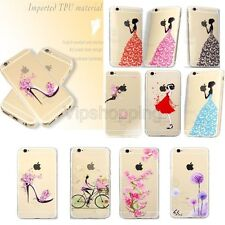 Fashion Phone Shell Rubber Soft TPU Silicone Phone Case Cover For Iphone6/6s