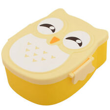 Microwave Cute Cartoon Owl Lunch Box Food Container Box Portable Bento Meal Box