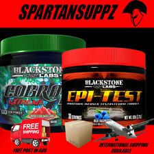 BLACKSTONE LABS EPITEST & COBRA EXTREME RECOMP STACK TEST BOOST FAT LOSS VALUE