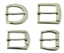 """1"""" (25 mm) Single Prong Belt Buckle Silver Nickle Free Pin Strap Leather Belts"""