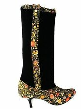 New Naughty Monkey Womens Casper Fabric boots size 6.5