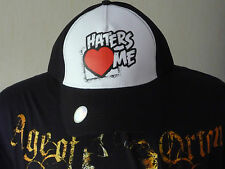 CASQUETTE CATCH WWE THE MIZ HATERS ME TAILLE REGLABLE VELCRO CAP MEN/HOMME