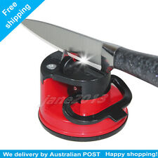 RED Knife Sharpener Sharp For Suction Knives Blades Tools Scissors Kitchen Tools