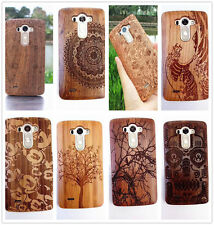 Fashion Genuine Natural Wood Wooden Bamboo Hard Back Cover Phone Case For LG G3