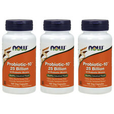 Now Foods Probiotic-10™ 25 Billion - 50 Vcaps OR 100 Vcaps FREE SHIPPING