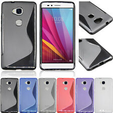 Ultra Thin Soft Rubber GEL TPU Phone Case Back Cover Skin For Huawei GR5