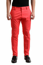 Dsquared2 Men's Light Red Casual Pants US 32 34