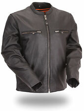 """First MFG Classics """"The Promoter"""" Men's Side Stretch Scooter Jacket FIM272CFDZ"""