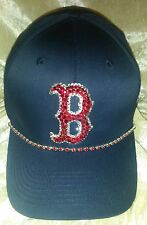 Boston Red Sox MLB Womens Rhinestone Bling Baseball Cap Hat ~NEW~FREE SHIP!