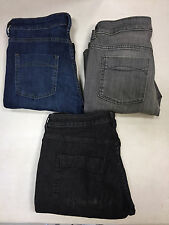 EX M&S 3211 INDIGO COLLECTION LADIES SKINNY LEG JEANS WITH STRETCH 3 COLOURS
