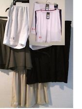 NWT Under Armour Heat Gear Mens Loose Athletic Shorts White M L XL