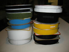 25 to 100mm wide HOOK & LOOP tape. 24m per Roll Sew-on & Adhesive. High Quality.