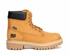"""Timberland Pro 6"""" Work Boots Direct Attach Steel Toe Wheat 65016"""