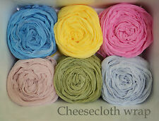 Newborn Baby Cheesecloth Wrap Maternity Swaddle Photo Photography Prop