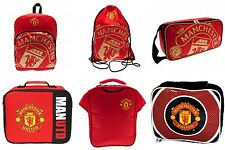 Manchester United FC Backpack/Ruck Sack Boot Bag Lunch Bag Gym Bag PE/Swim Bag
