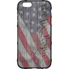 Magpul Field Case for iPhone SE,4,5,5s. Custom We The People, Constitution Flag