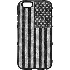 Magpul Field Case for iPhone SE,4,5,5s. Custom Black Subdued USA Flag