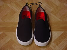 Faded Glory Boys Black Canvas Timmy Sneakers Size 13, 4