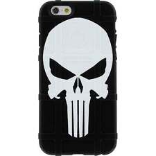 Magpul Field Case for iPhone SE,4,5,5s. Custom Punisher Black Ego Tactical