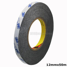 Double Sided Adhesive Tape 3M 9448A Black Glue For Cellphone Repair 12mmx50m
