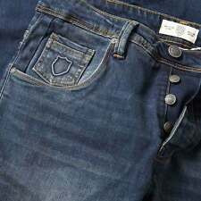 883 Police Mens Garcia 271 Straight Fit Jeans Denim Trousers Faded Wash