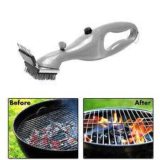 New Stainless Steel Grill Steam Cleaning Tool BBQ Brush Cleaner Barbecue Tool BE