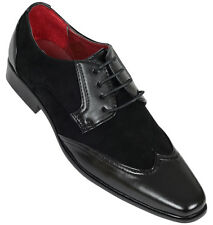 Gio Gino Formal Mens Stylish Look Formal 90715 Shoes Mens UK Size Black