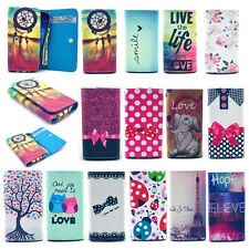 2016 Universal Wallet Card Flip PU Leather Case Cover For iPhone Mobile Phones