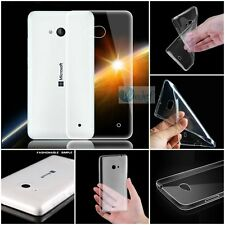 0.2mm ULTRA THIN Rubber Crystal TPU Gel SOFT Back Cover Case For Nokia Microsoft