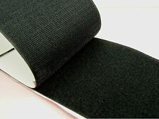 50CM or 1M x BLACK 100mm Width SELF Adhesive HOOK and LOOP Fastener TAPE
