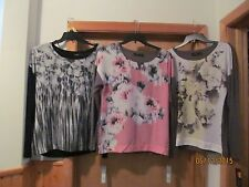Long Sleeve Blouses APT.9 size  LG,MD, Multi color NWT