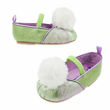 Disney Store Tinkerbell Fairy Baby Costume Dress Shoes Size 6 12 18 24 Months