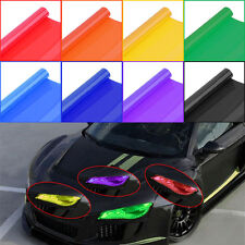 Glossy Color Vinyl Film Tint Universal For Headlights Fog Light Lamps Taillights