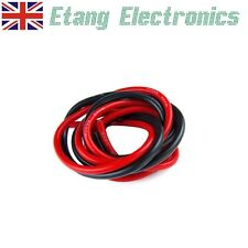 10/12/16/18/20/22AWG Silicone Wire Cable Red/Black for RC Battery/ESC 1m Length