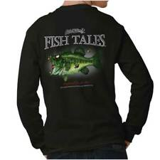 Large Mouth Zombie Bass Fish Sporting Goods Fishing Gear Funny Long Sleeve Tee