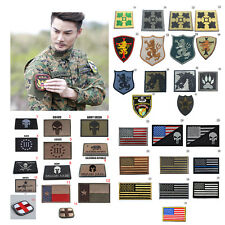 Multi-style 3D Embroidery Military Tactical Army Morale Patch Sew Badge Decors