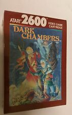 NEW FACTORY SEALED  DARK CHAMBERS ATARI 2600 PAL VERSION  NOT FOR USA OR CANADA